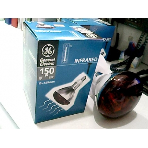 İnfrared Ampul 150W GENERAL E27 Q=125MM