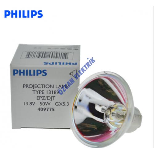 13189 PHILIPS 13.8V 50W GX5,3 EPZ/DJT