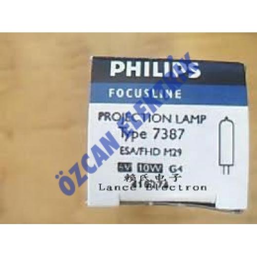 7387 PHILIPS 6V 10W G4 ESA/FHD